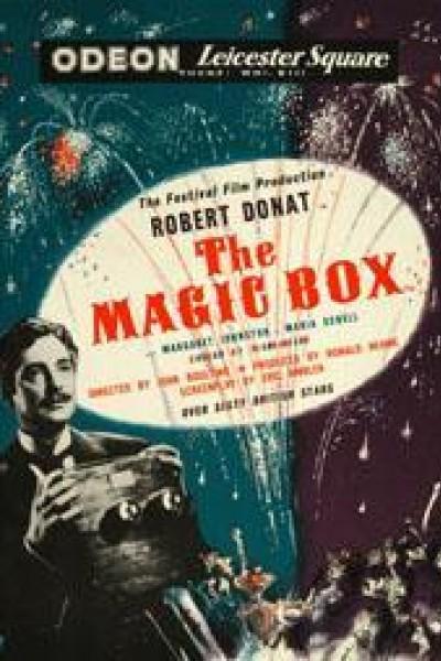 Caratula, cartel, poster o portada de The Magic Box