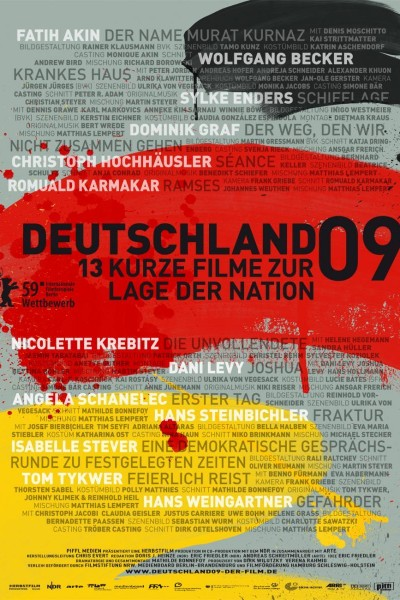 Caratula, cartel, poster o portada de Germany 09: 13 Short Films About the State of the Nation