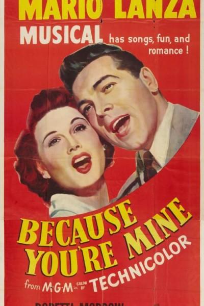 Caratula, cartel, poster o portada de Porque eres mía