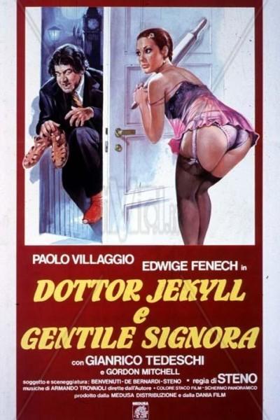Caratula, cartel, poster o portada de Al doctor Jeckyll le gustan calientes