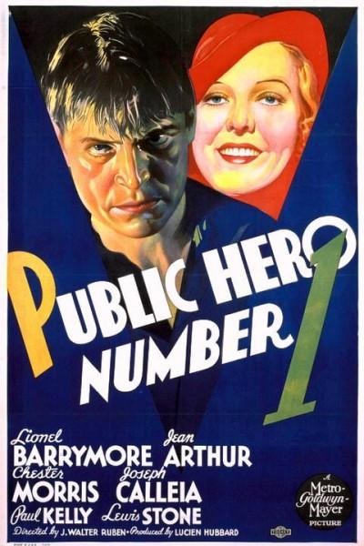 Caratula, cartel, poster o portada de El héroe público número 1