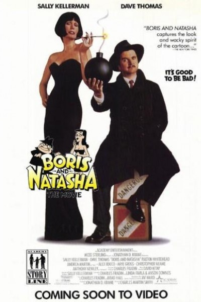 Caratula, cartel, poster o portada de Boris y Natasha