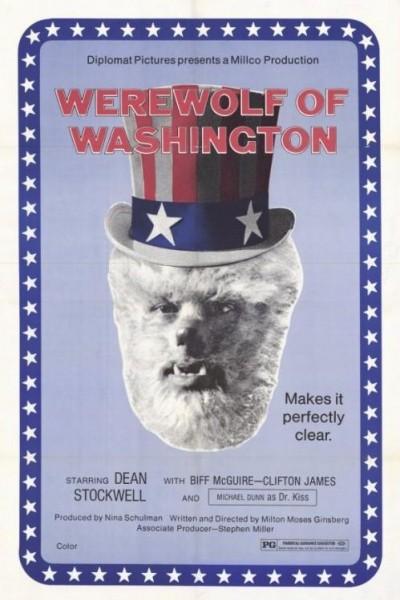 Caratula, cartel, poster o portada de El hombre lobo de Washington