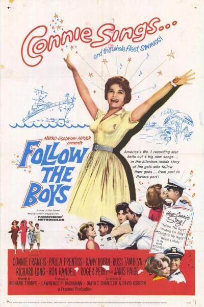 Caratula, cartel, poster o portada de Follow the Boys