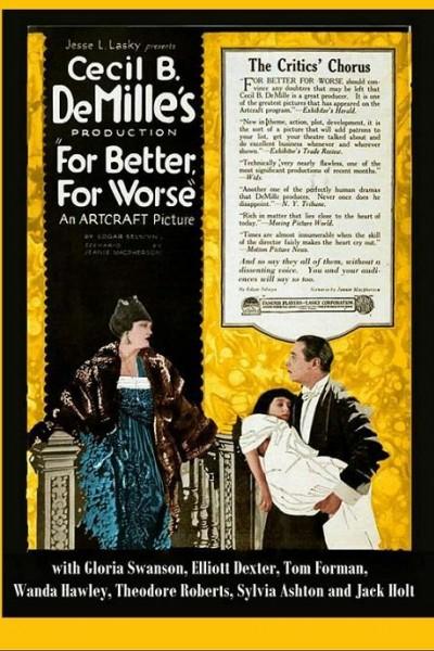 Caratula, cartel, poster o portada de For Better, for Worse