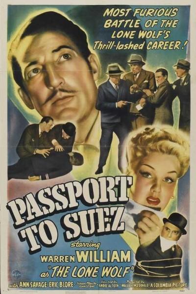 Caratula, cartel, poster o portada de Passport to Suez