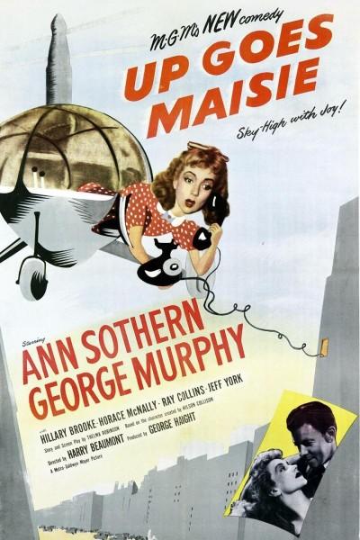 Caratula, cartel, poster o portada de Up Goes Maisie