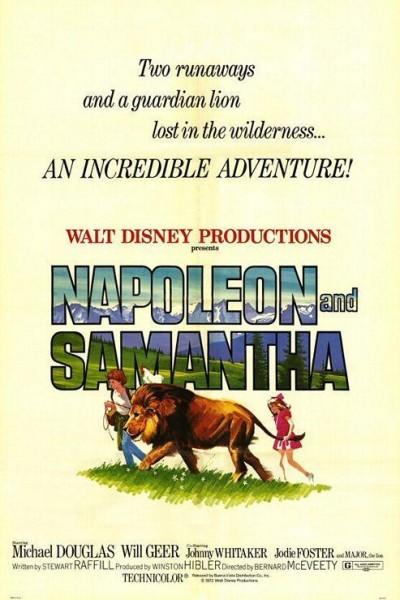 Caratula, cartel, poster o portada de Napoleón y Samantha