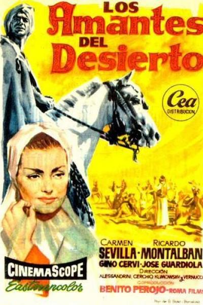 Caratula, cartel, poster o portada de Los amantes del desierto