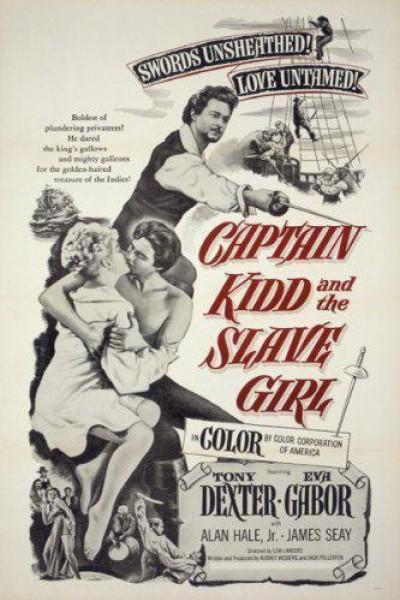 Caratula, cartel, poster o portada de Captain Kidd and the Slave Girl