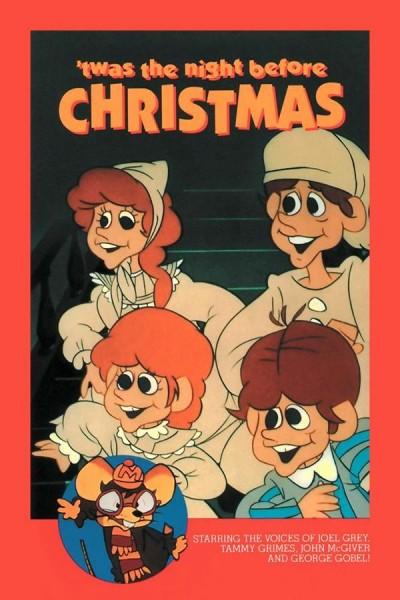 Caratula, cartel, poster o portada de \'Twas the Night Before Christmas
