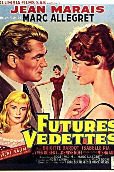 Caratula, cartel, poster o portada de Futures vedettes