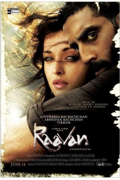 Caratula, cartel, poster o portada de Raavan