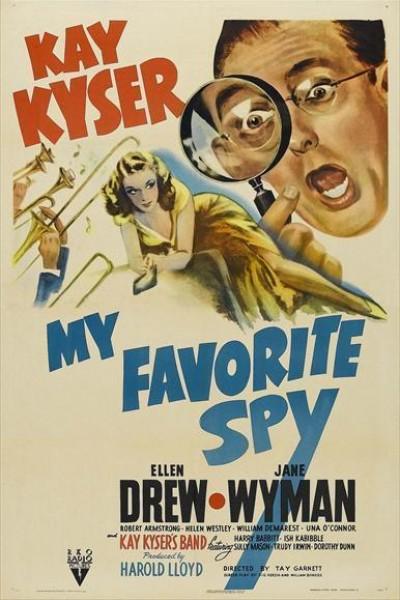 Caratula, cartel, poster o portada de Mi espía favorita