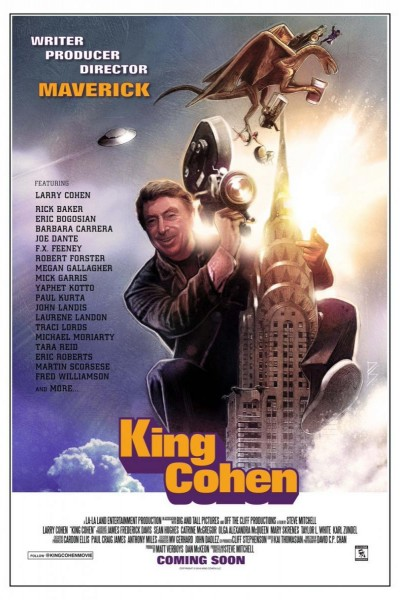 Caratula, cartel, poster o portada de King Cohen: The Wild World of Filmmaker Larry Cohen