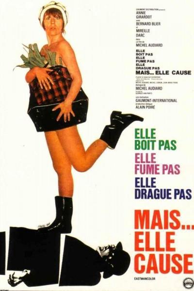 Caratula, cartel, poster o portada de Elle boit pas, elle fume pas, elle drague pas, mais... elle cause!