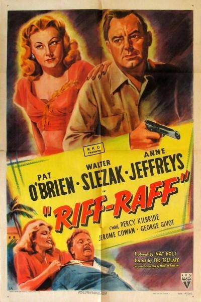 Caratula, cartel, poster o portada de Riffraff