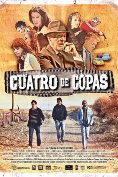 Caratula, cartel, poster o portada de Cuatro de copas