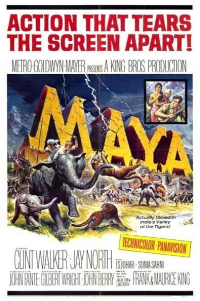 Caratula, cartel, poster o portada de Maya