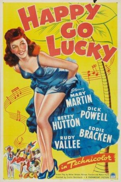 Caratula, cartel, poster o portada de Happy Go Lucky