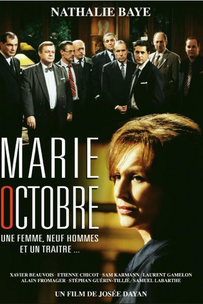Caratula, cartel, poster o portada de Marie-Octobre