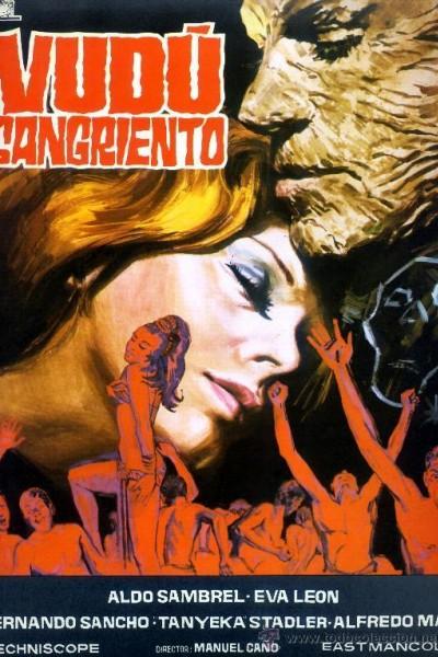 Caratula, cartel, poster o portada de Vudú sangriento