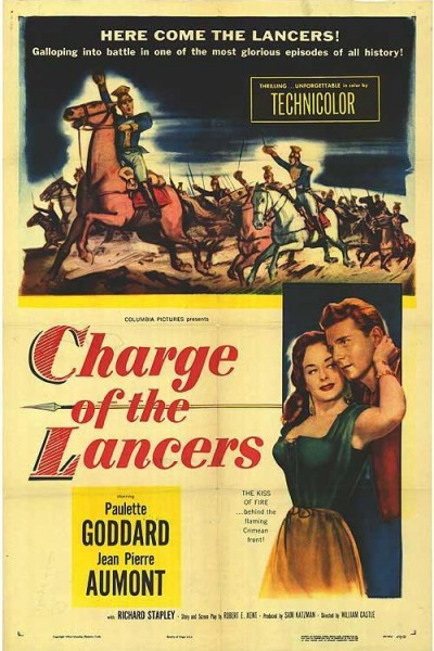 Caratula, cartel, poster o portada de Charge of the Lancers