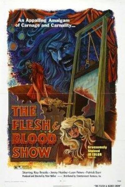 Caratula, cartel, poster o portada de The Flesh and Blood Show