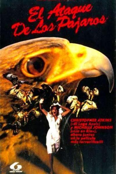 Caratula, cartel, poster o portada de El ataque de los pájaros
