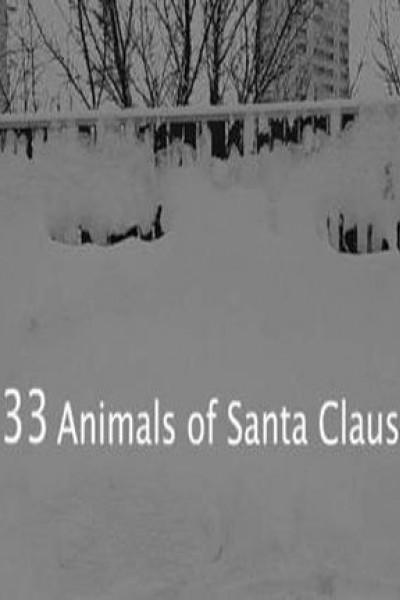 Caratula, cartel, poster o portada de 33 Animals of Santa Claus