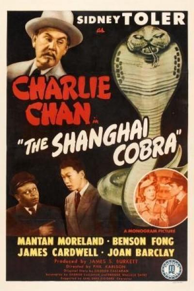 Caratula, cartel, poster o portada de Charlie Chan en La Cobra de Shangai