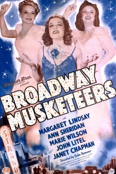 Caratula, cartel, poster o portada de Broadway Musketeers