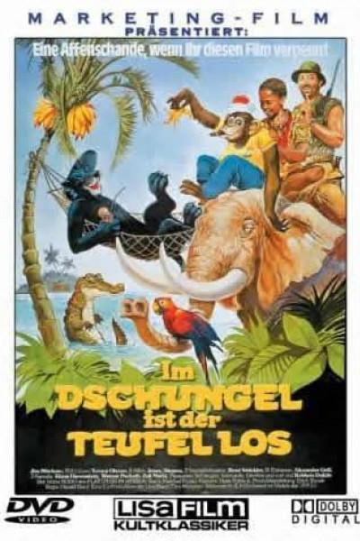 Caratula, cartel, poster o portada de La más loca aventura de la jungla