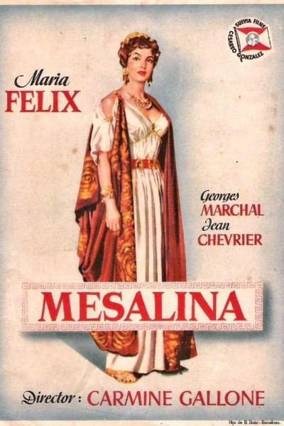Caratula, cartel, poster o portada de Mesalina