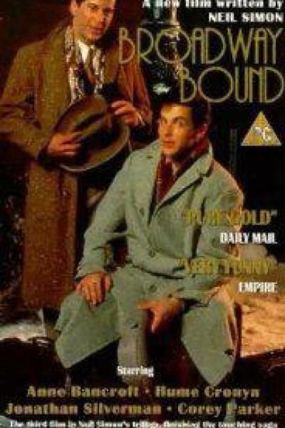 Caratula, cartel, poster o portada de Broadway Bound