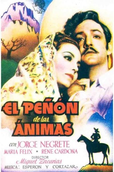 Caratula, cartel, poster o portada de El peñón de las ánimas