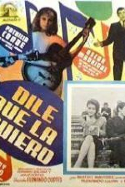 Caratula, cartel, poster o portada de Dile que la quiero