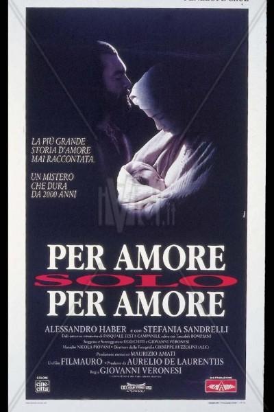 Caratula, cartel, poster o portada de Por amor, sólo por amor
