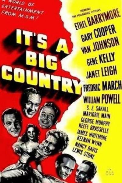 Caratula, cartel, poster o portada de Un gran país