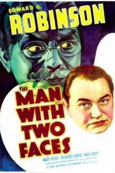 Caratula, cartel, poster o portada de El hombre de las dos caras