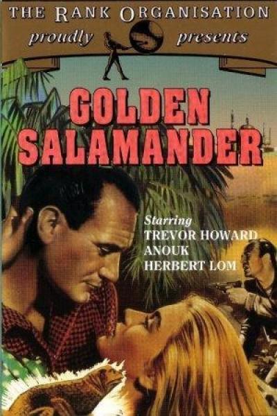 Caratula, cartel, poster o portada de La salamandra de oro