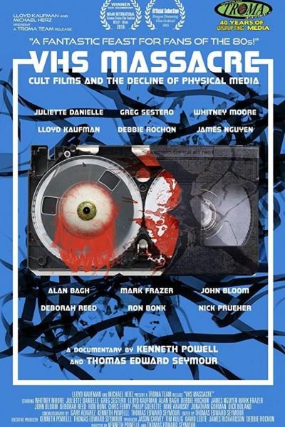 Caratula, cartel, poster o portada de VHS Massacre: Cult Films and the Decline of Physical Media