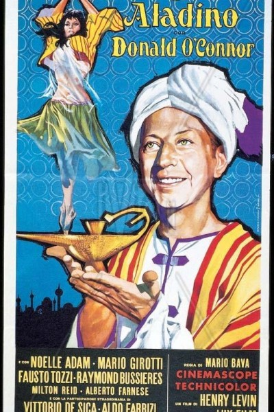 Caratula, cartel, poster o portada de Le meraviglie di Aladino