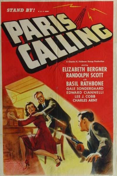 Caratula, cartel, poster o portada de Paris Calling