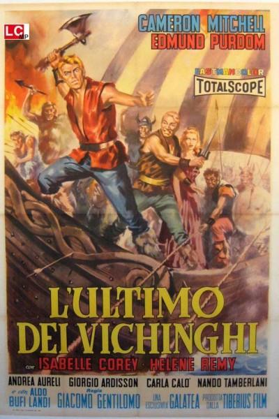 Caratula, cartel, poster o portada de El último vikingo
