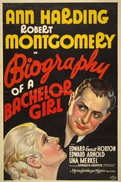 Caratula, cartel, poster o portada de Biography of a Bachelor Girl