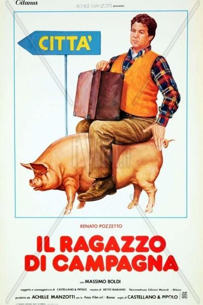 Caratula, cartel, poster o portada de Il ragazzo di campagna
