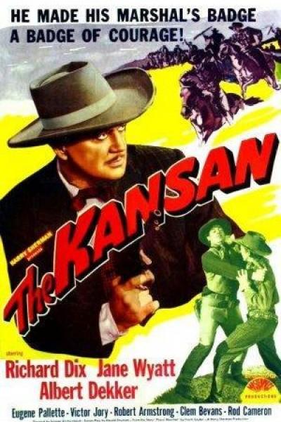 Caratula, cartel, poster o portada de The Kansan