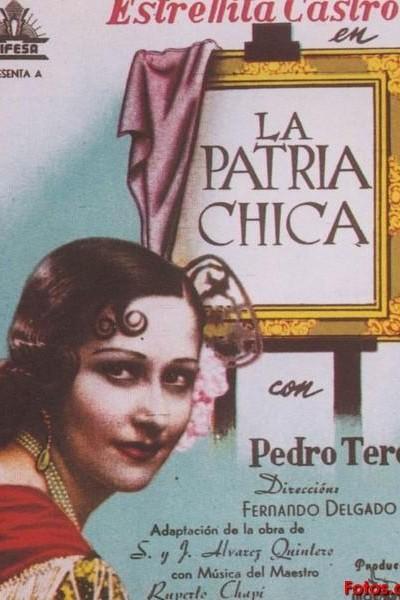 Caratula, cartel, poster o portada de La patria chica