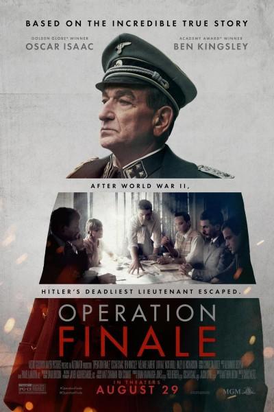 Caratula, cartel, poster o portada de Operation Finale